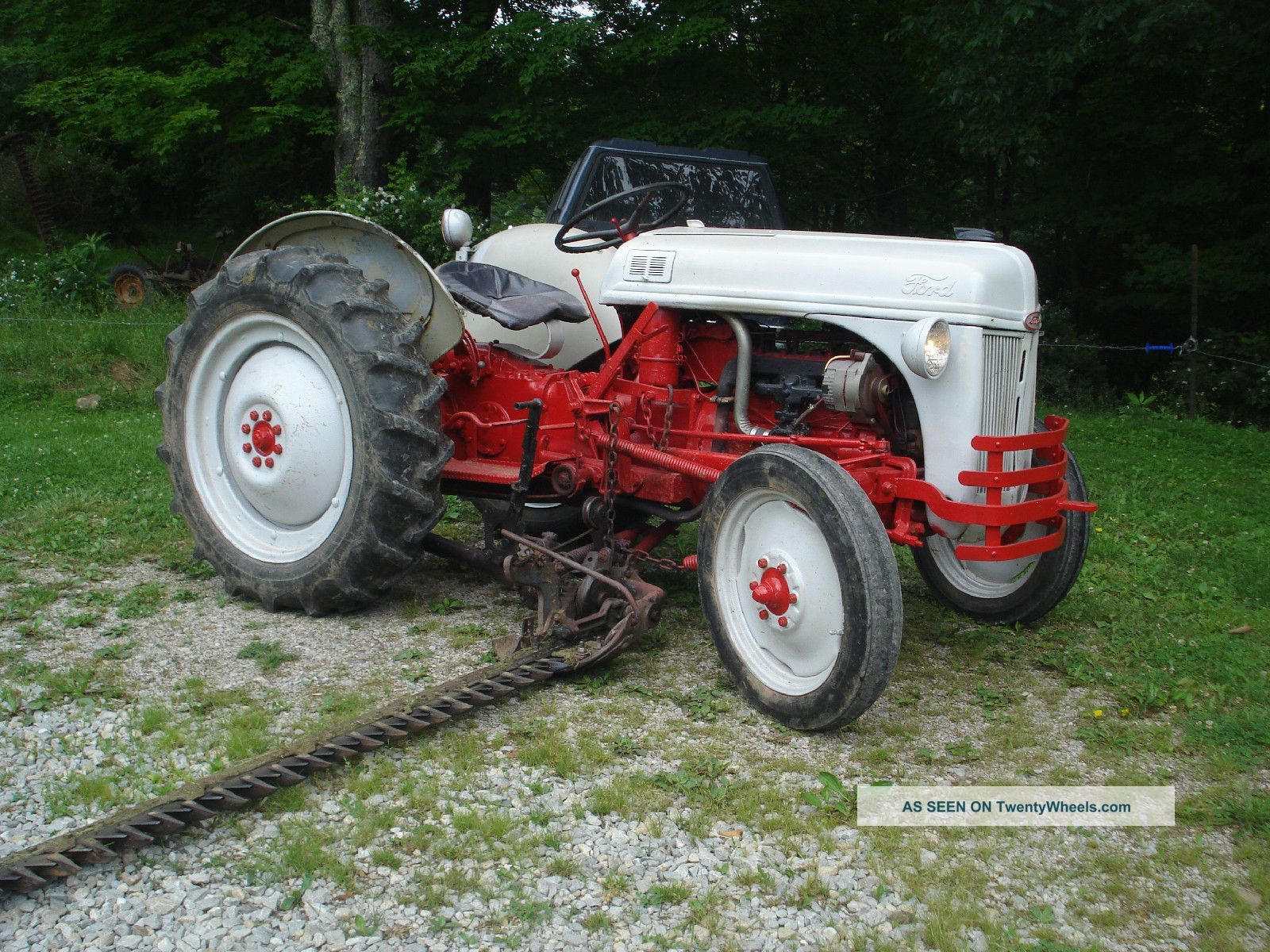manual for 1949 ford 8n tractor