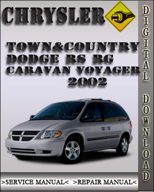 1993 dodge caravan service manual