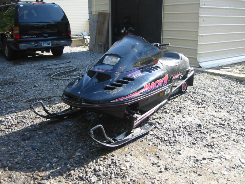 user manual mach 1995 snowmobile