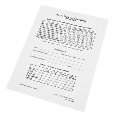 minnesota manual dexterity test normative data