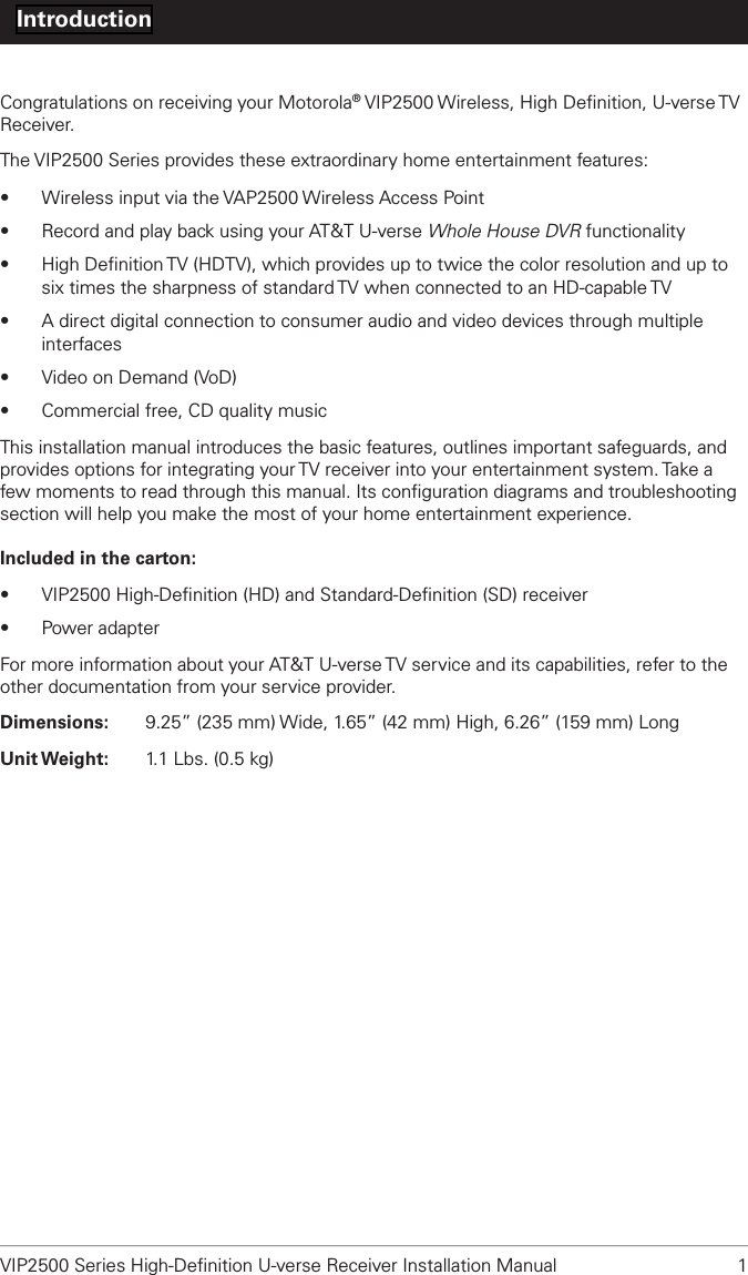 arris group model ax013anm manual