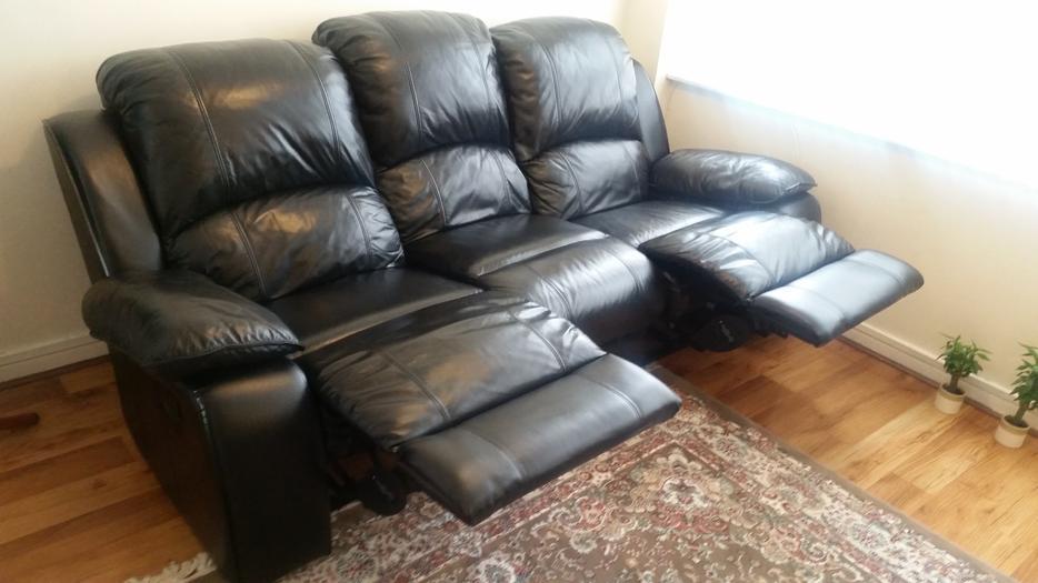manual recliner sofa hard to use