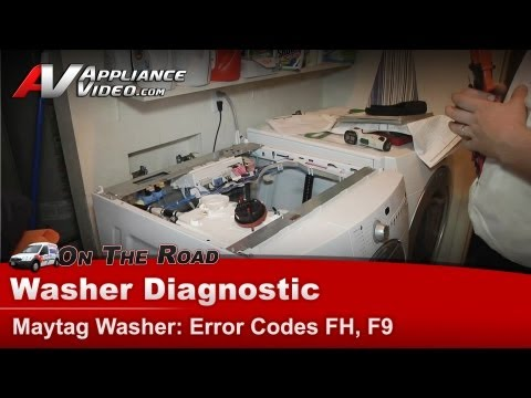 how do i manually open door on kenmore he4t washer