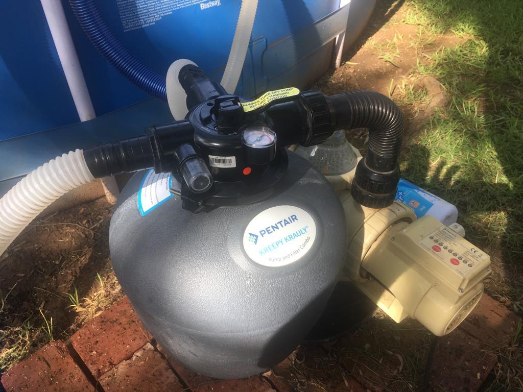 bestway pool filter pump manual