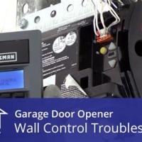 how to manually lock craftsman garage door