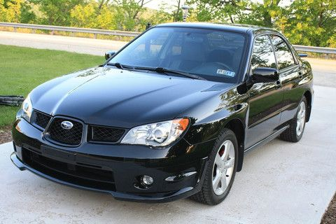 2006 subaru impreza 2.5i manual wagon