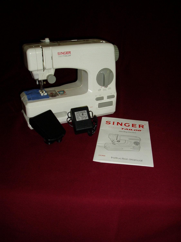 singer tiny tailor model m100a manual