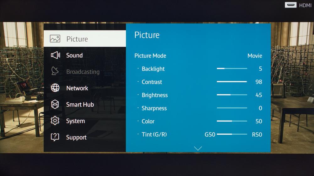 setting manual movie mode in fz 300