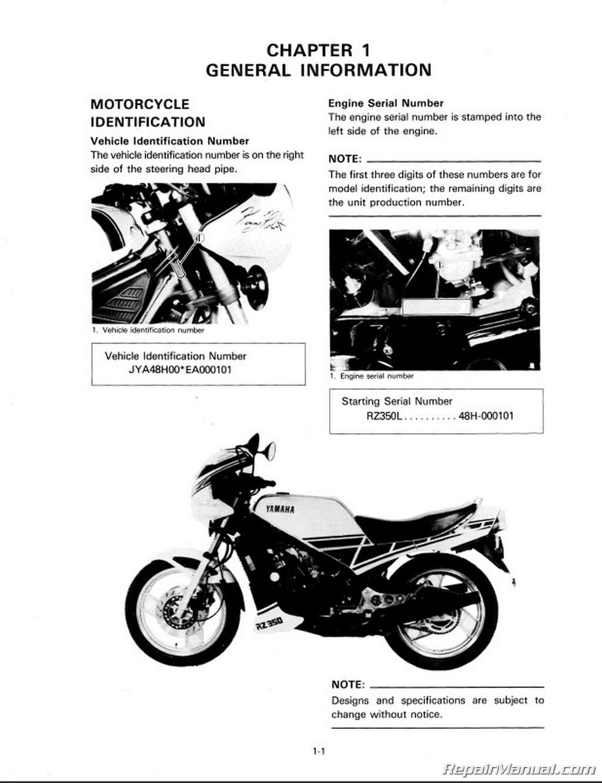 1984 yamaha virago 750 service manuals