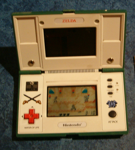zelda game and watch manual