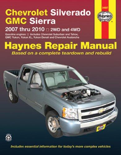 2010 gmc sierra shop manual