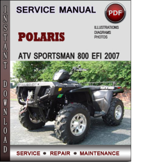 2007 polaris sportsman 800 x2 service manual