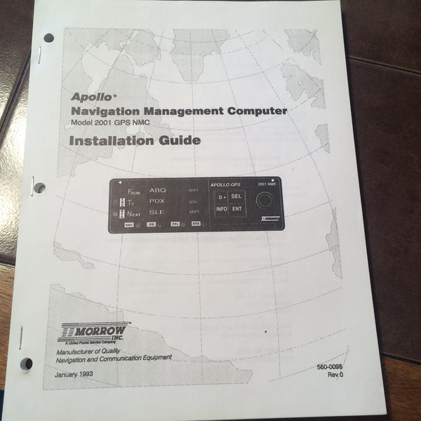 apollo 2001 gps installation manual