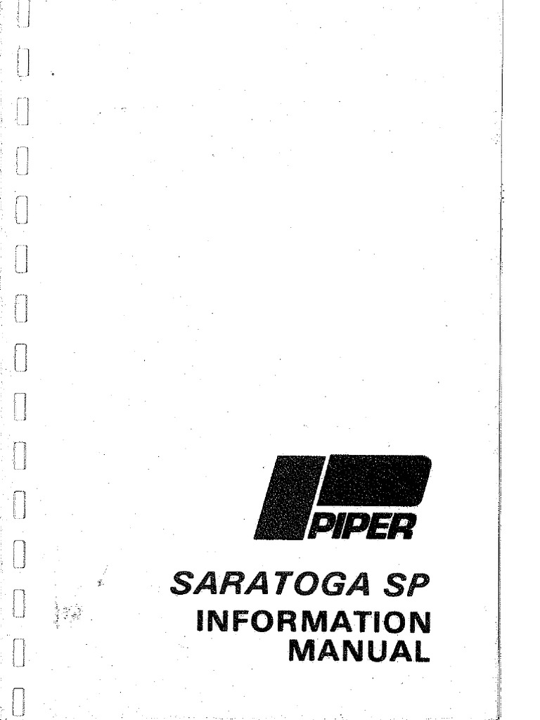 piper pa 46 meridian flight manual