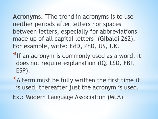 chicago manual of style plural acronym
