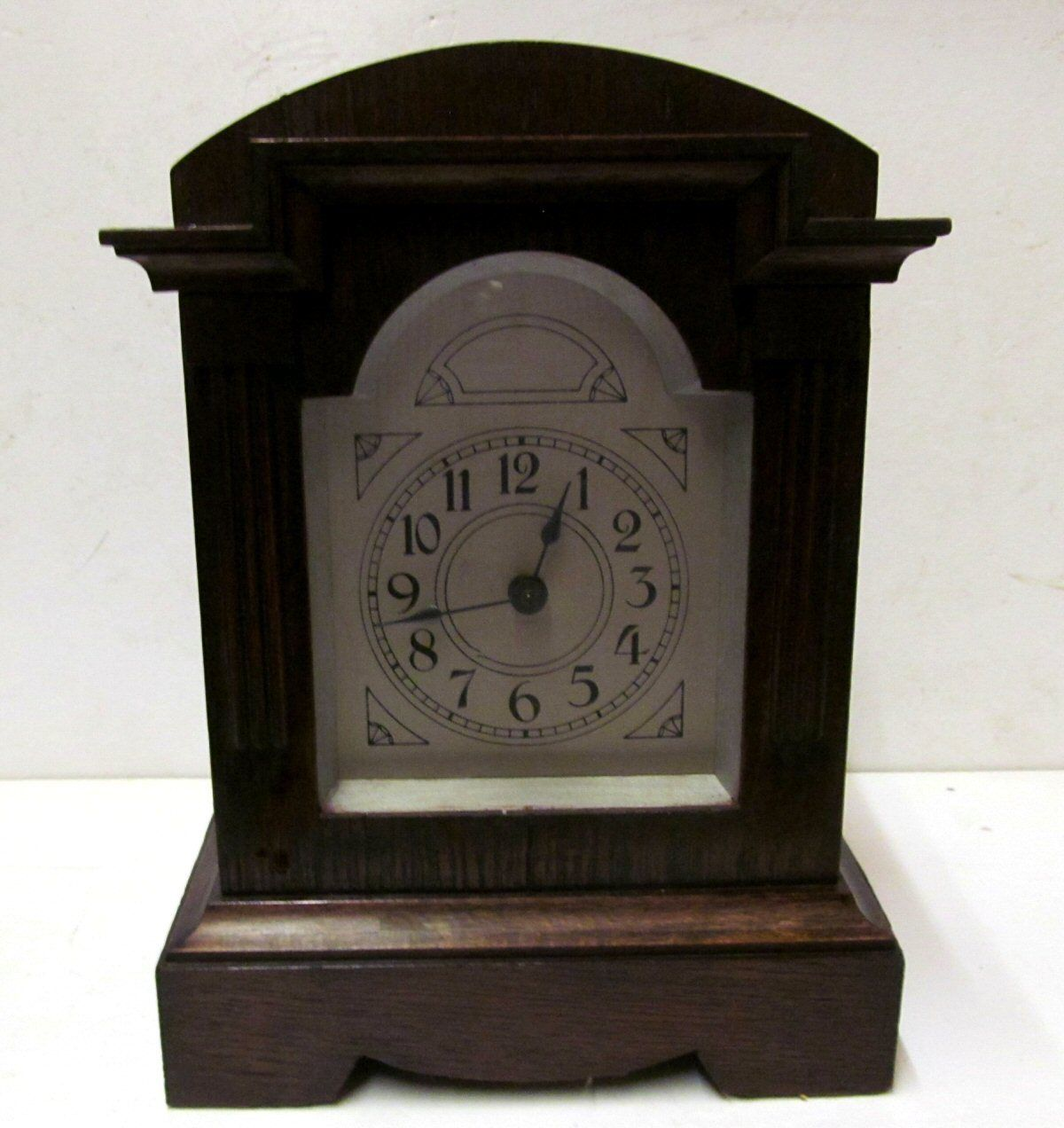 antique manual key wind alarm