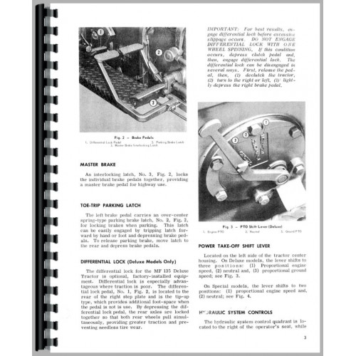 1975 massey 135 owners manual free
