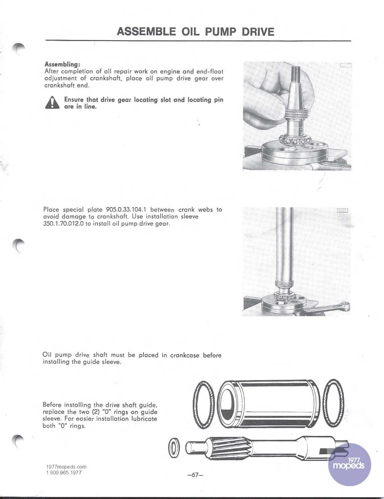 1977 peugeot 103 moped manual