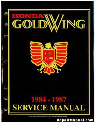 1984 honda atc200s shop manual