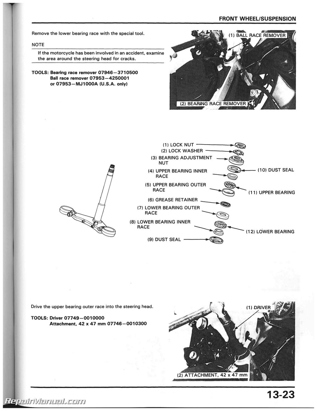 1985 honda magna v45 owners manual