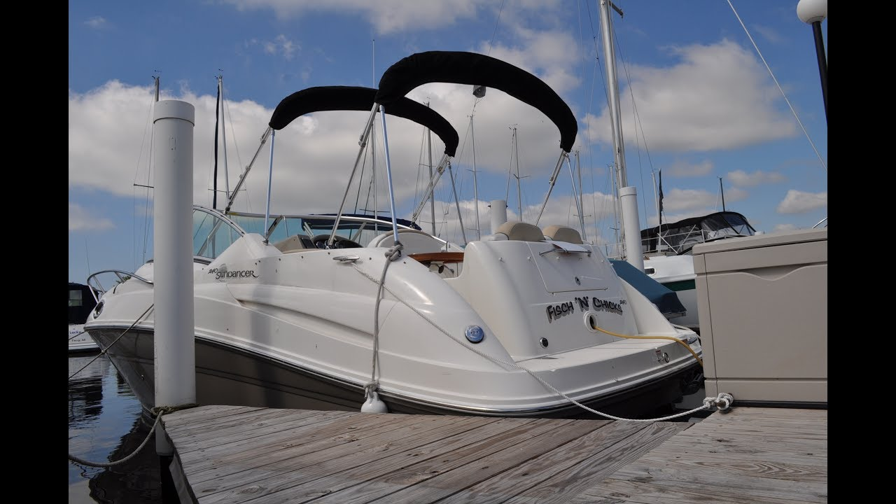 1996 sea ray sundancer 240 owners manual