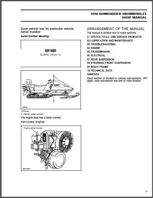 1997 skidoo formula service manual