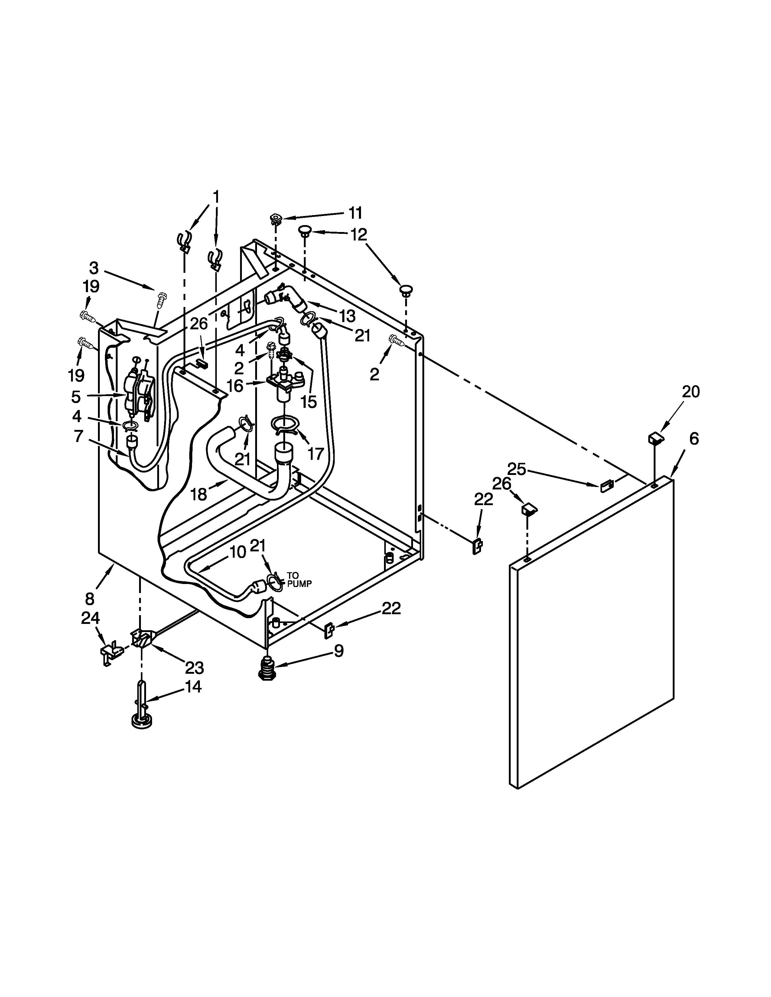 simpsons sears washing machine manual model 110