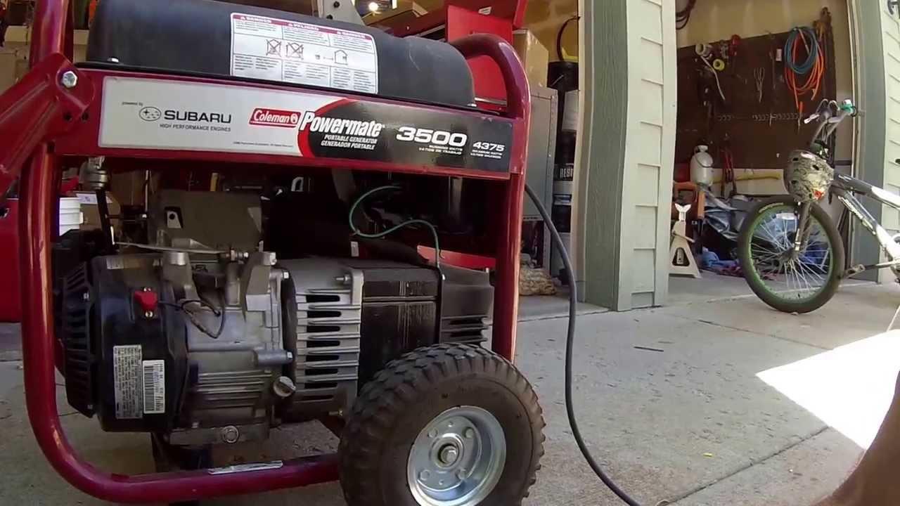 generatrice briggs stratton 3500 manual