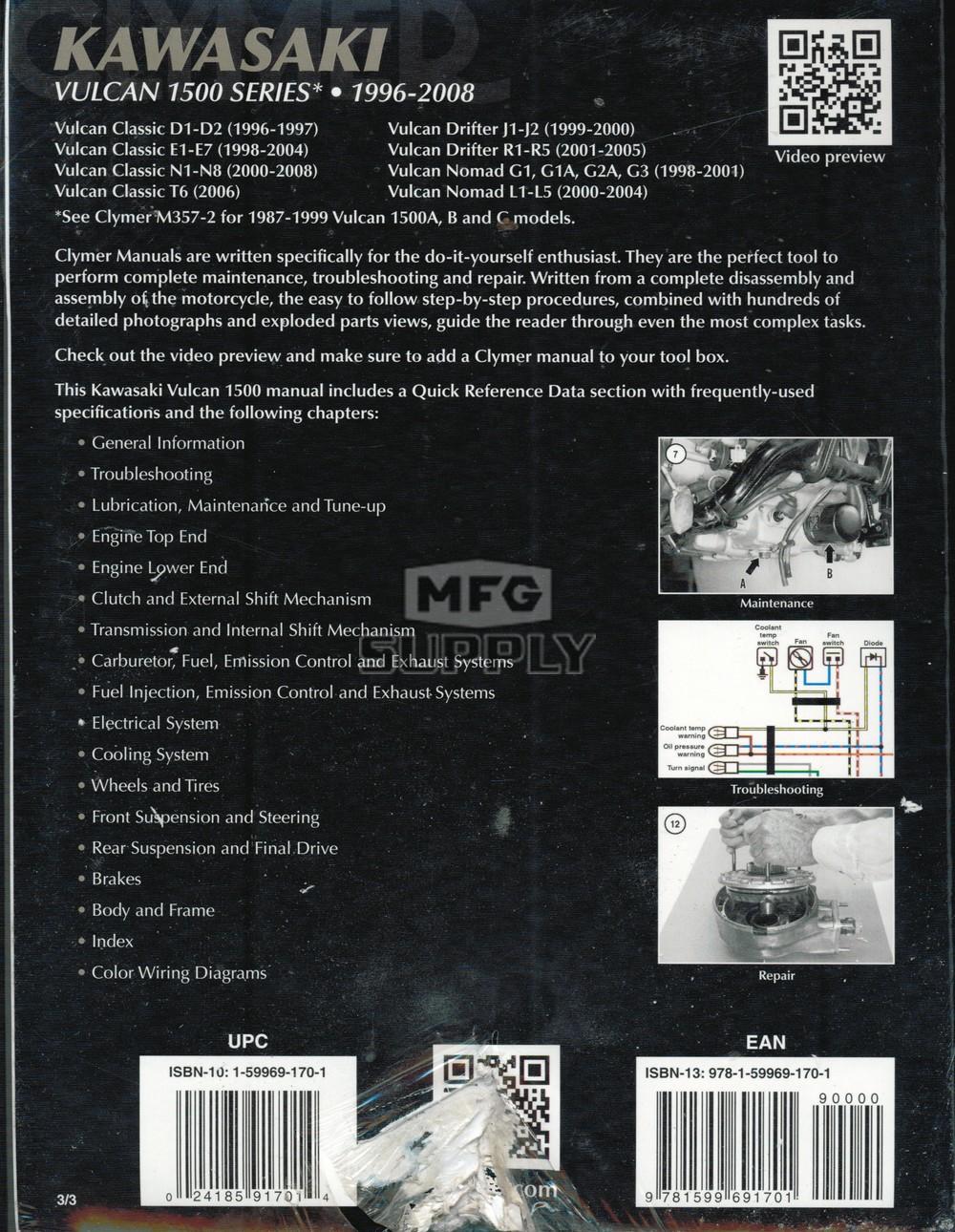 2000 kawasaki vulcan 1500 classic service manual