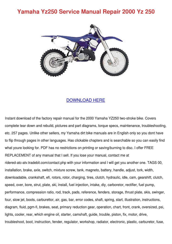 2000 ski doo service manual free download