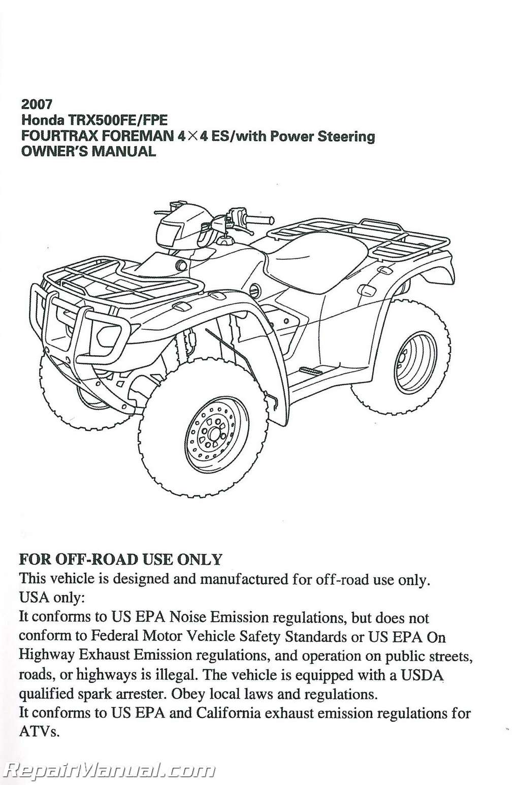 2002 honda 4x4 atv online manual