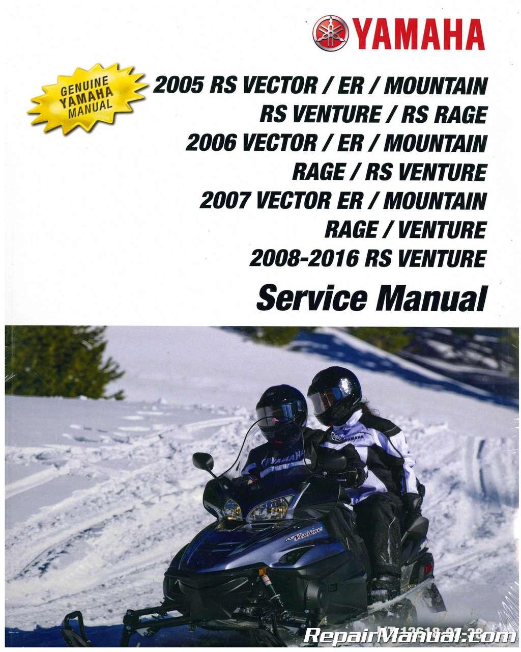2006 yamaha snowmobile service manual free download