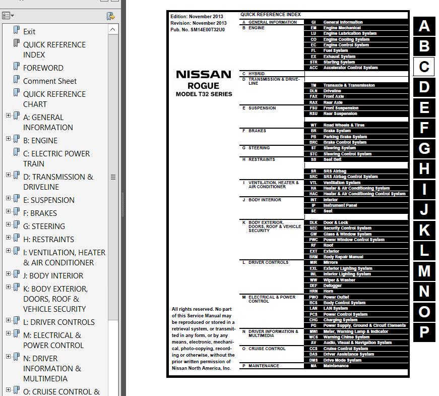 2009 nissan rogue service manual pdf