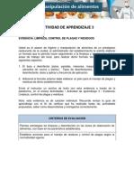manual de limpieza y desinfeccion para restaurantes