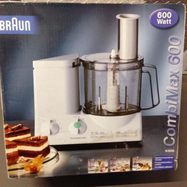 braun combimax 600 user manual english
