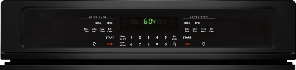 frigidaire electric double oven manual