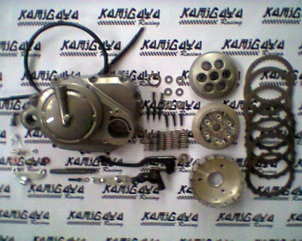manual clutch install crf 88