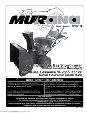 yardworks 32 357 snowblower manual