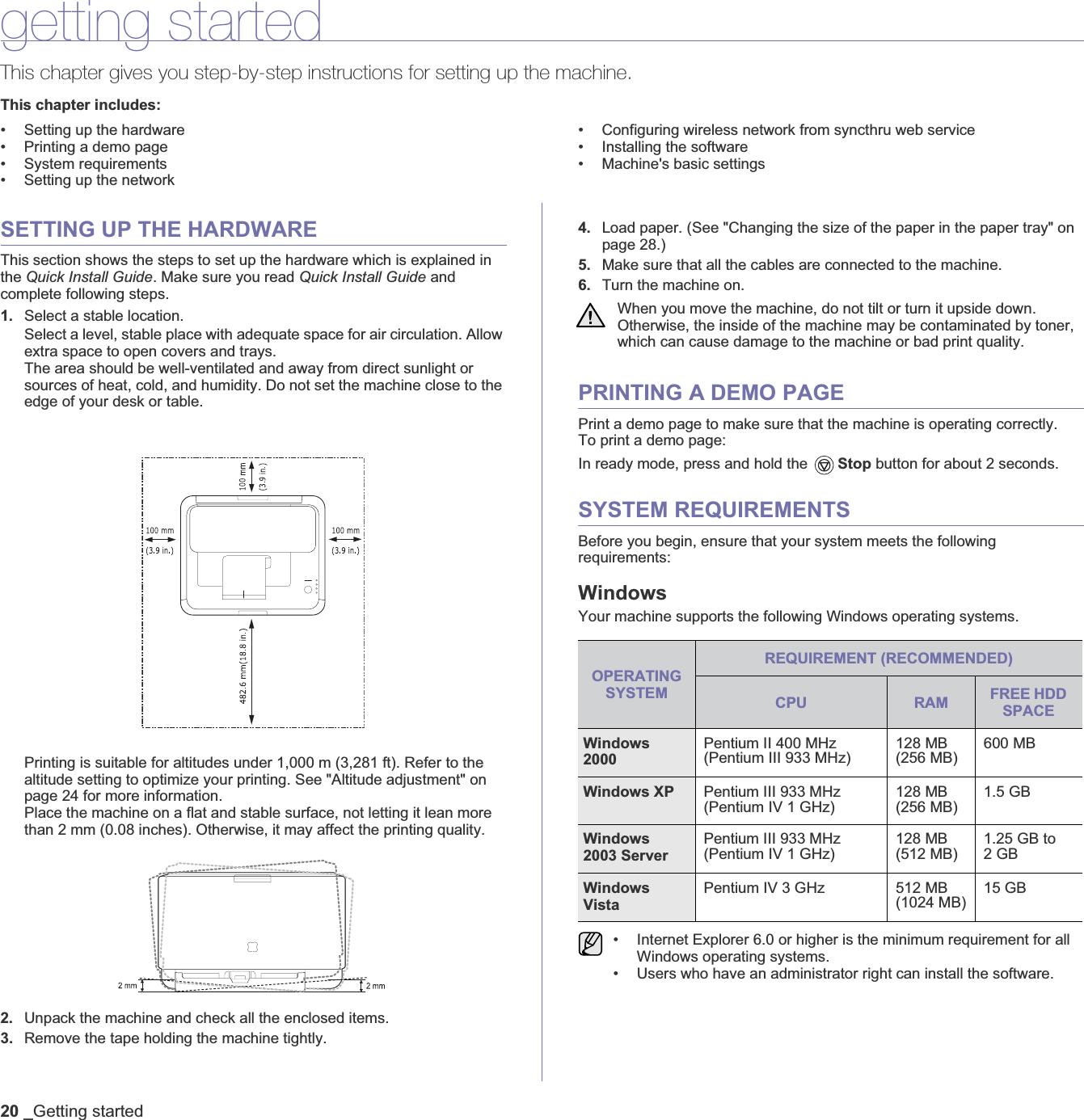 samsung clp 310n printer manual