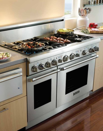 thermador electric double oven manual