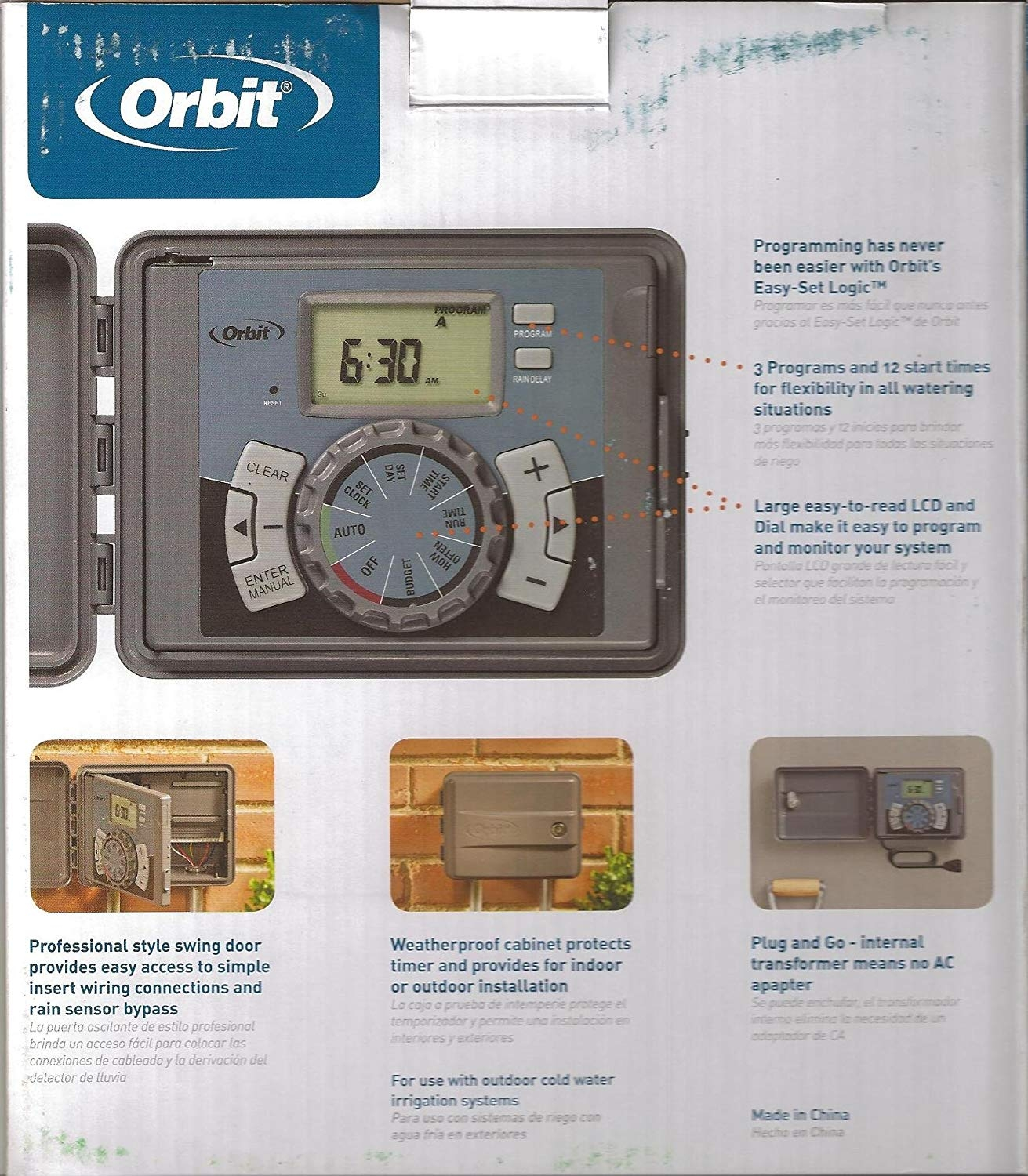 orbit hose faucet timer 91014 user manual