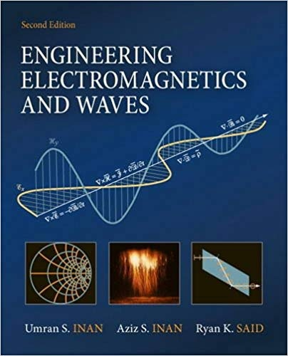 engineering electromagnetics and waves umran s inan solution manual