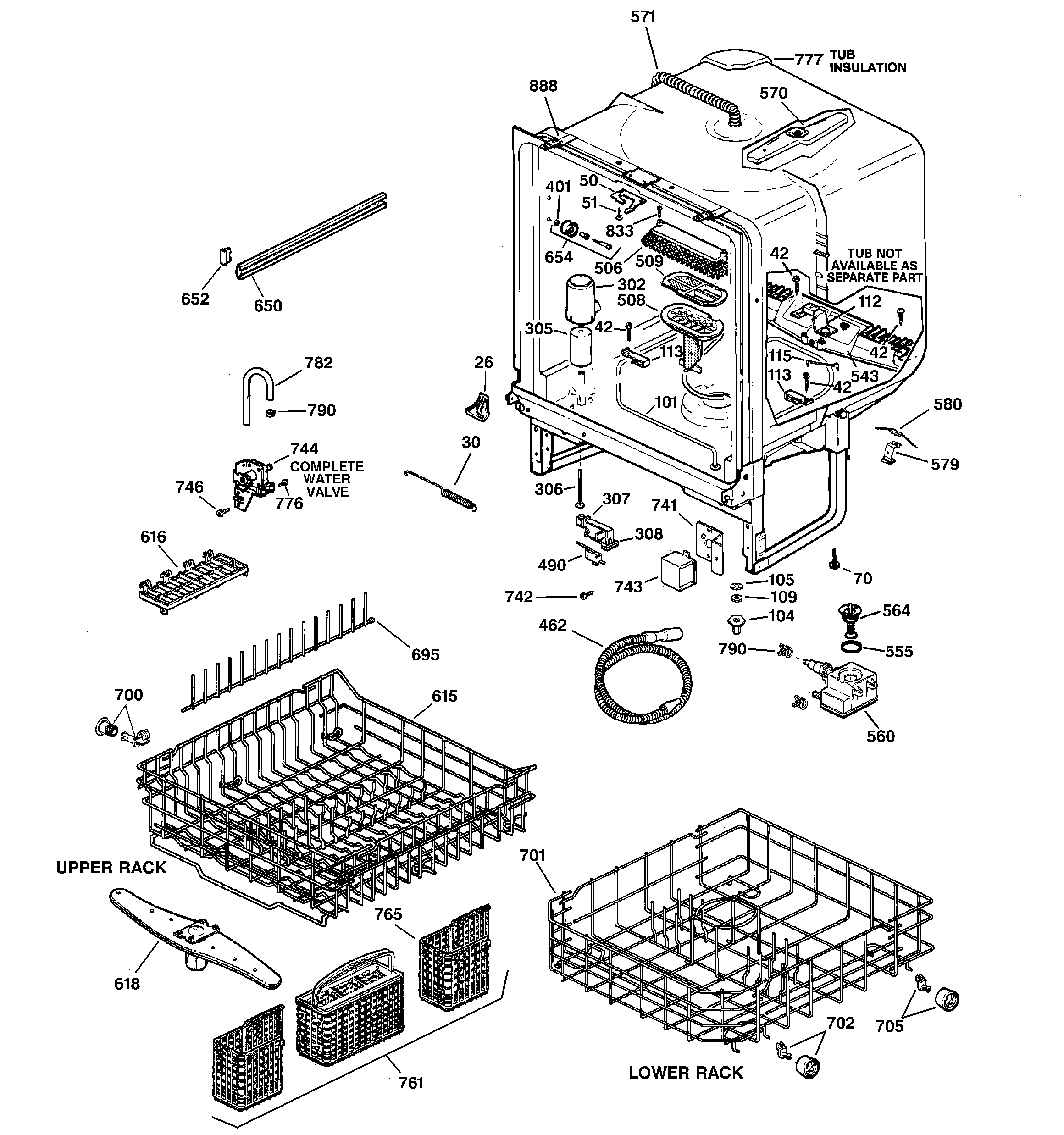 ge quiet power 3 dishwasher repair manual