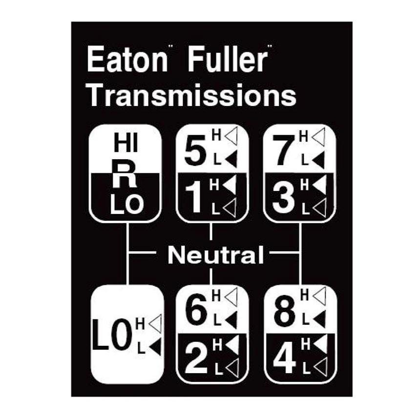 eaton fuller 6 speed manual transmission fluid