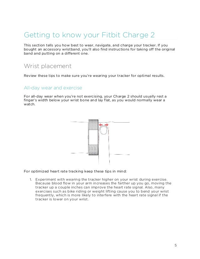 fitbit charge 2 canada manual