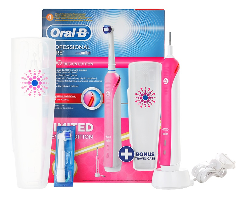 oral-b professional care 1000 electric toothbrush manual