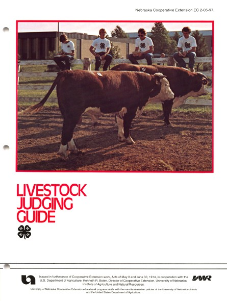 4-h ontario judging manual