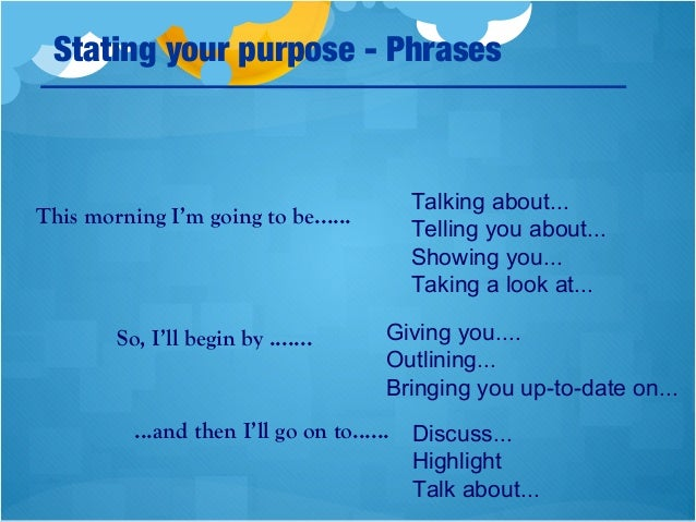 em oral presentation instruction manual