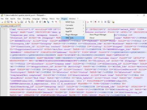 manually splitting and formatting xml file