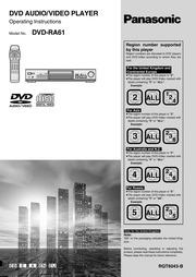 panasonic s53 dvd player manual